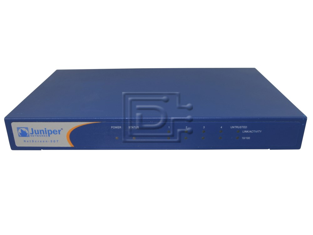 Juniper NS-5GT-101 Netscreen 5 Firewall / VPN Appliance image 1