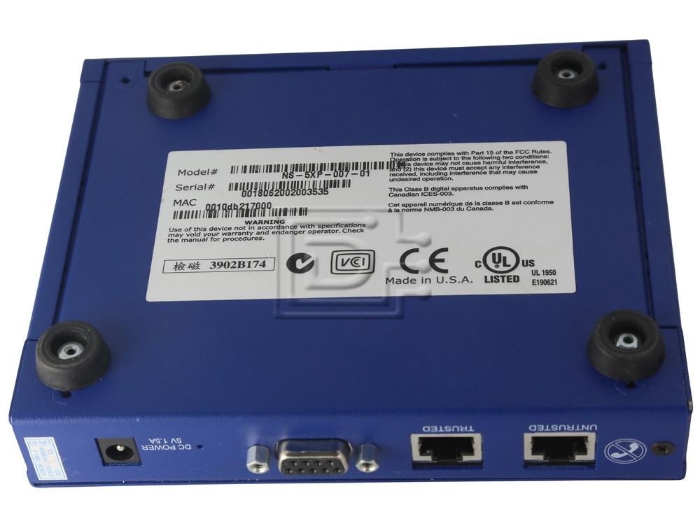 Juniper NS-5XP-001 Netscreen 5XP Firewall / VPN Appliance image 3