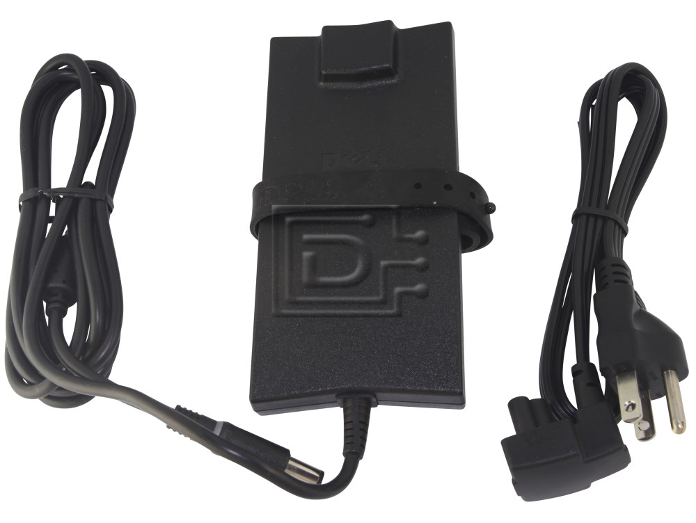 Dell PA-10 2H098 9T215 310-3399 PA-1900-04 320-1389 Dell 90 Watt Laptop Power Adapter image 1