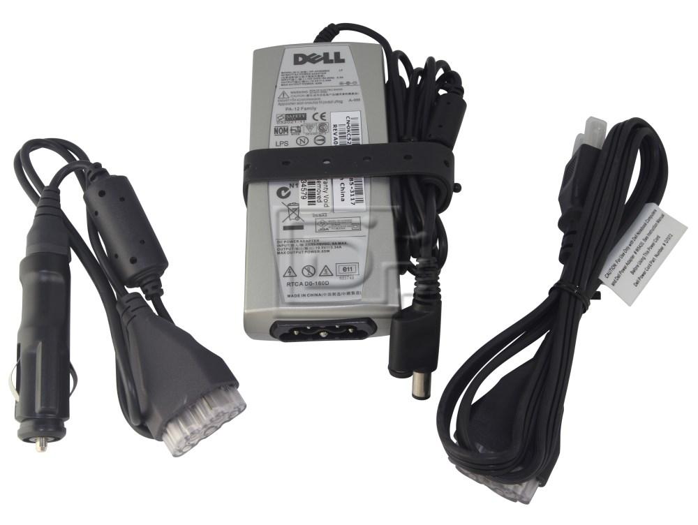 Dell PA 12 Auto Air KC529 W1451 W5420 HP AF065B83 65 Watt AC Adapter