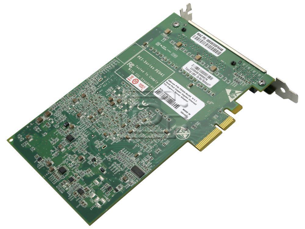Silicom PEG4I 4-port Gigabit Ethernet PCI Express Server Adapter