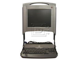 "Dell PF033 0PF033 4Y067 04Y067 Dell PF033 KMM LCD Console Module with 15"" Display"