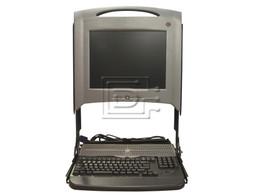 "Dell PF033 0PF033 4Y067 04Y067 Dell PF033 KMM LCD Console Module with 15"" Display"
