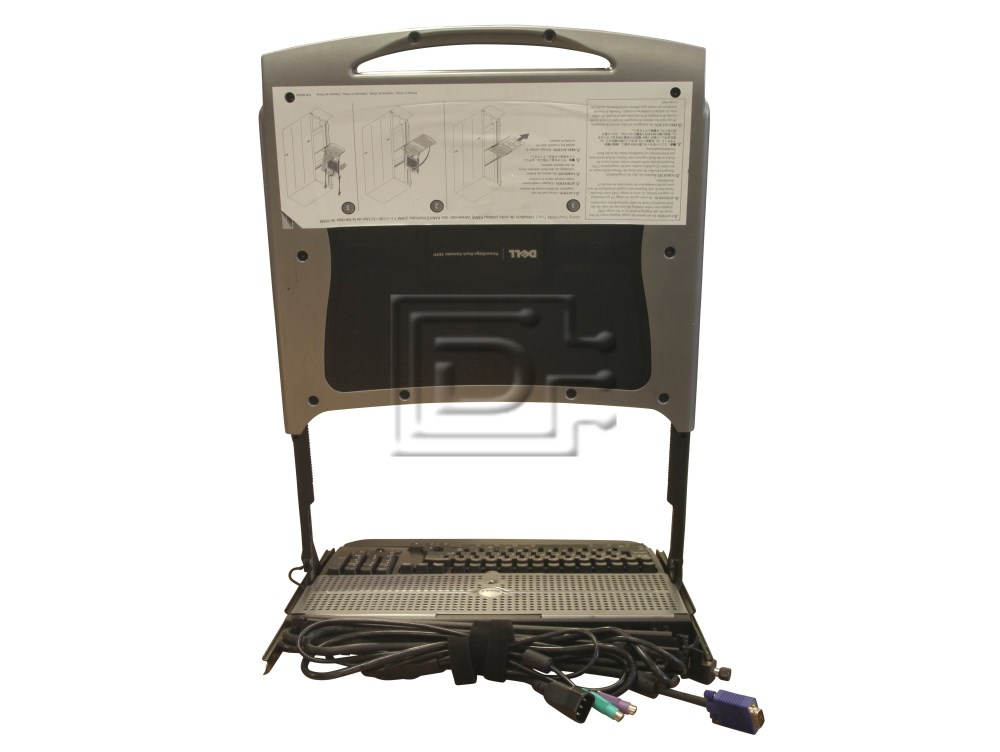dell poweredge rack console 15fp user manual