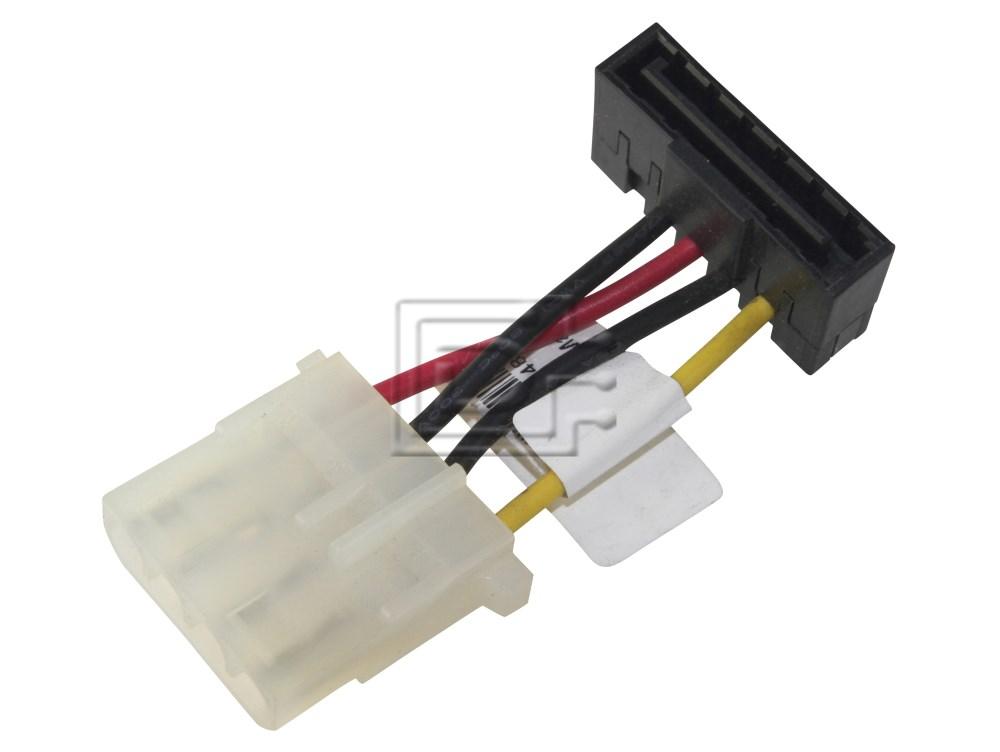 Power Cable Molex 4 Pin To Sata 15 Pin Connector