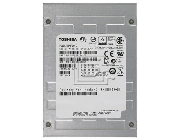 Toshiba PX02SMF040 Toshiba SAS SSD 12Gbps eMLC image 2