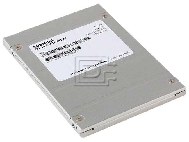 Toshiba PX02SMQ160 Toshiba SFF SAS SSD 12Gbps eMLC image