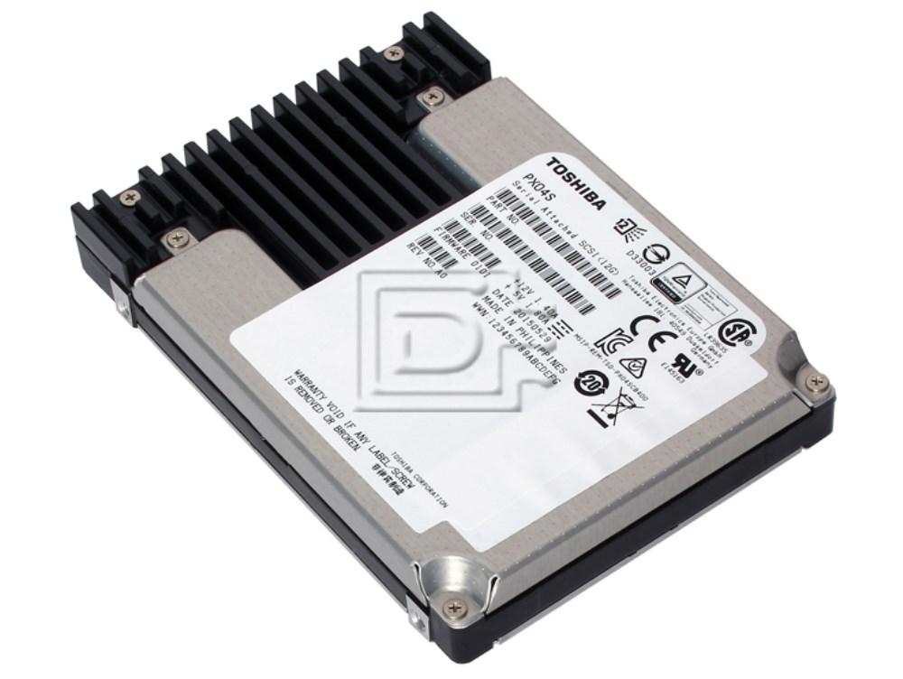 Toshiba PX02SSB080 SDFAB00GEA01 PX02SSB080 SAS SSD Hard Drive image