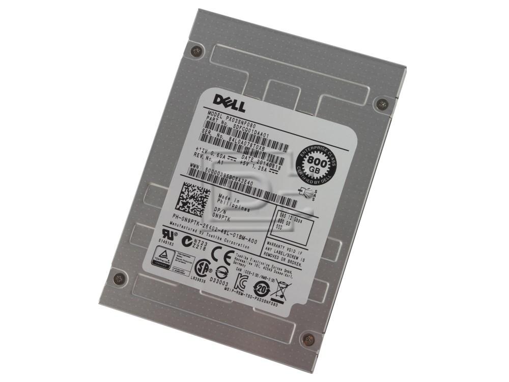Toshiba PX03SNF080 N9PTK 0N9PTK PX03SNF080 SAS eSSD image 1