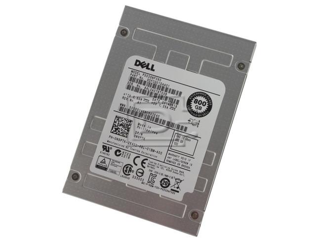 Toshiba PX03SNF080 N9PTK 0N9PTK Enterprise MLC SAS SSD image 1