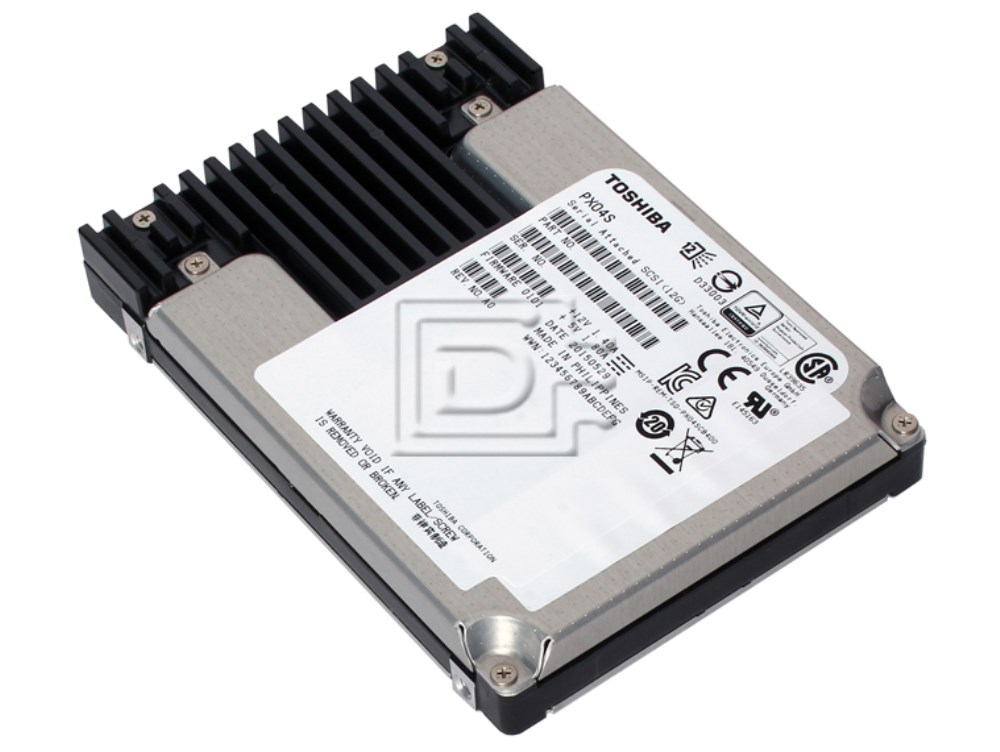 Toshiba PX04SRB192 SAS Solid State Drive image