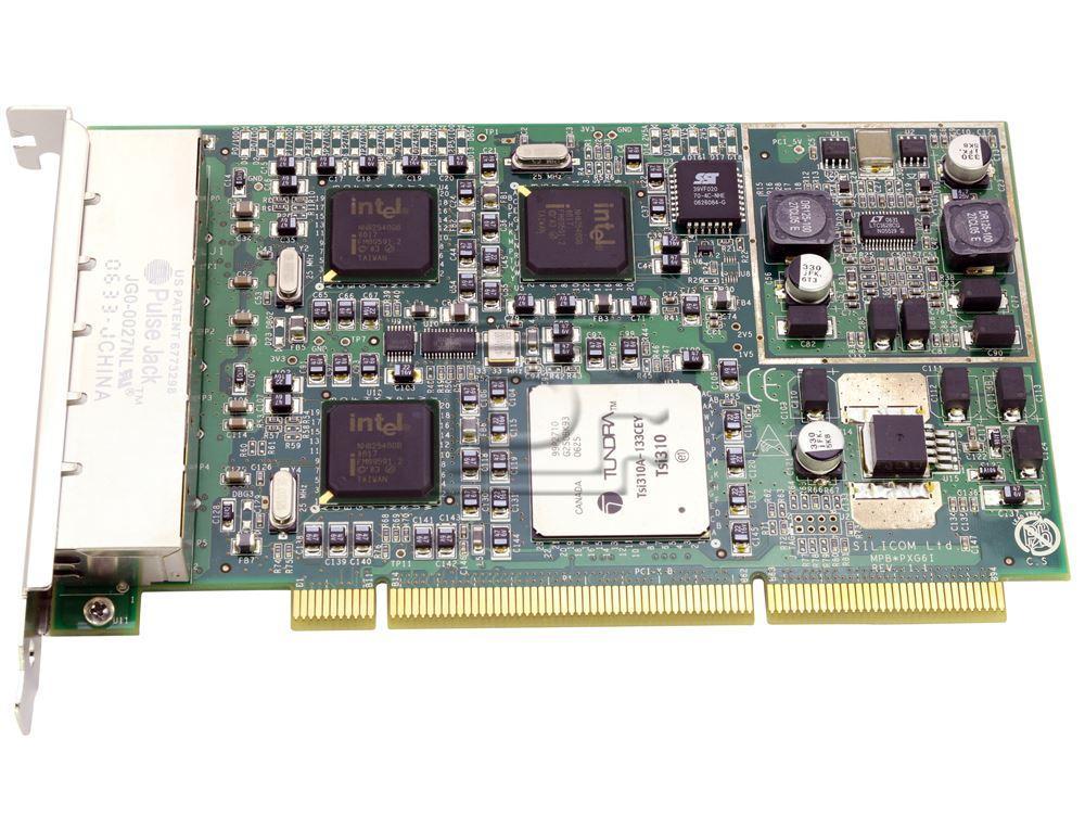 Silicom PXG6I JG0-0027NL Six Port Gigabit Ethernet Adapter / NIC image 1