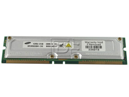SAMSUNG RAM-RAMBUS-256MB-PC800-UP-OE 256MB Rambus PC-800 RDRAM RAM Memory Module