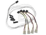 LSI Logic CAB-SAS-INT-8087-8482-4C-MOLEX-BN-OE ACK-I-mSASx4-SAS4x1-FO-1m CBL-SAS8087OCF-06M 2232000-R Internal SAS Cable