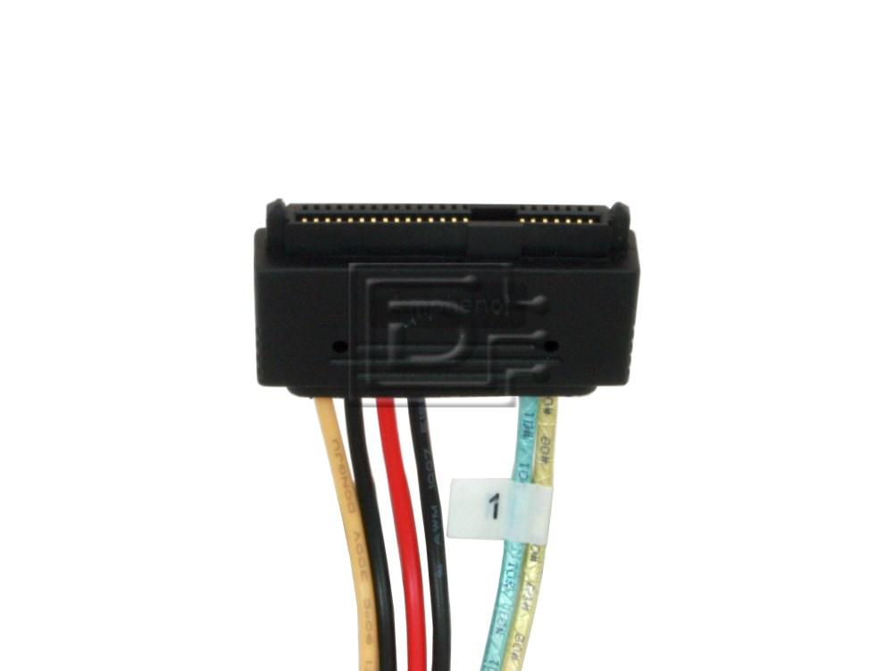 LSI Logic CAB-SAS-INT-8087-8482-4C-BN-OE ACK-I-mSASx4-SAS4x1-FO-1m CBL-SAS8087OCF-06M 2232000-R Internal SAS Cable image 2