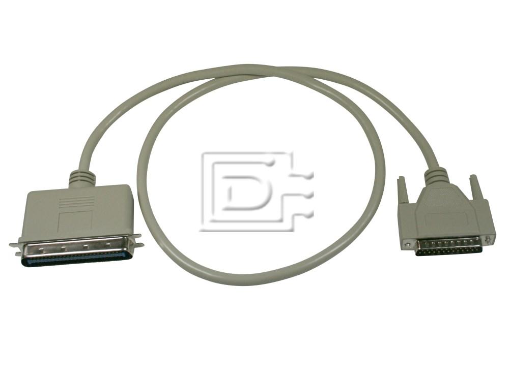 Amphenol CAB-SCSI-EXT-C50M-DB25M-1m-BN-OE image 1