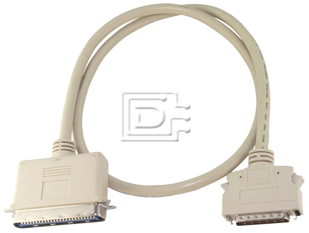 Amphenol CAB-SCSI-EXT-HD50M-C50M-1m-BN-OE image 1