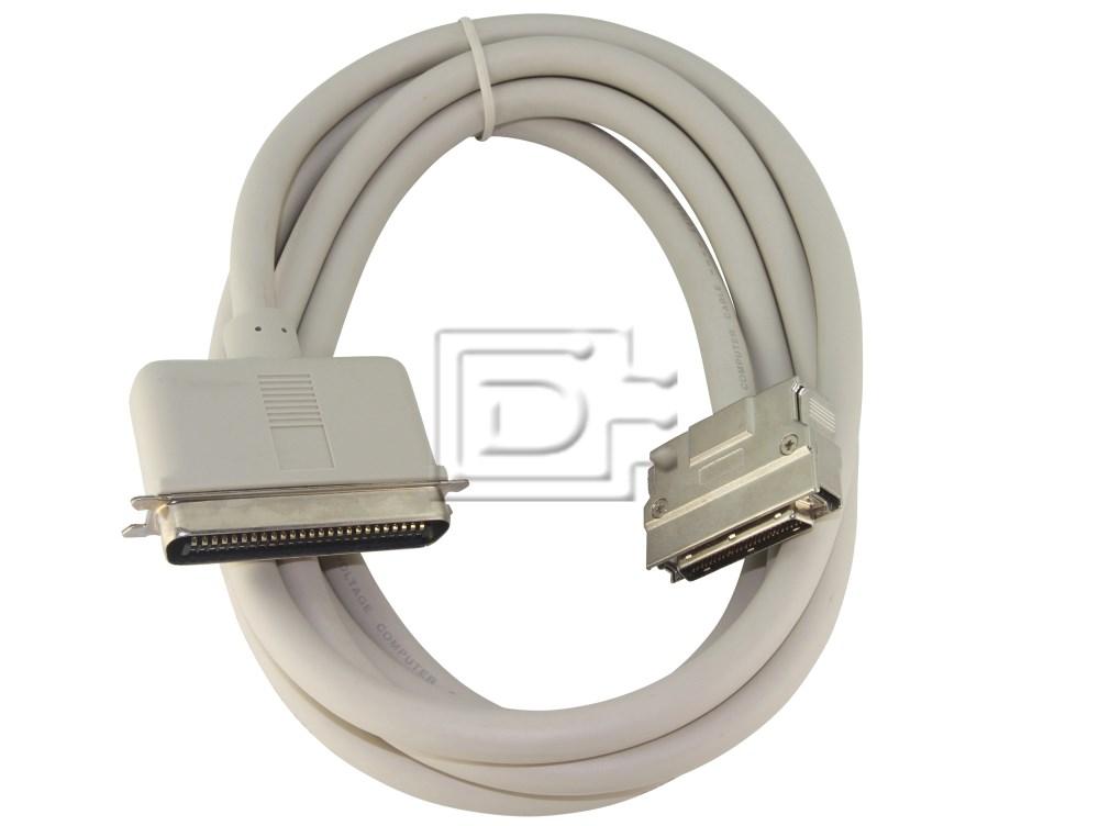 Amphenol CAB-SCSI-EXT-HD50M-C50M-3m-BN-OE image 1
