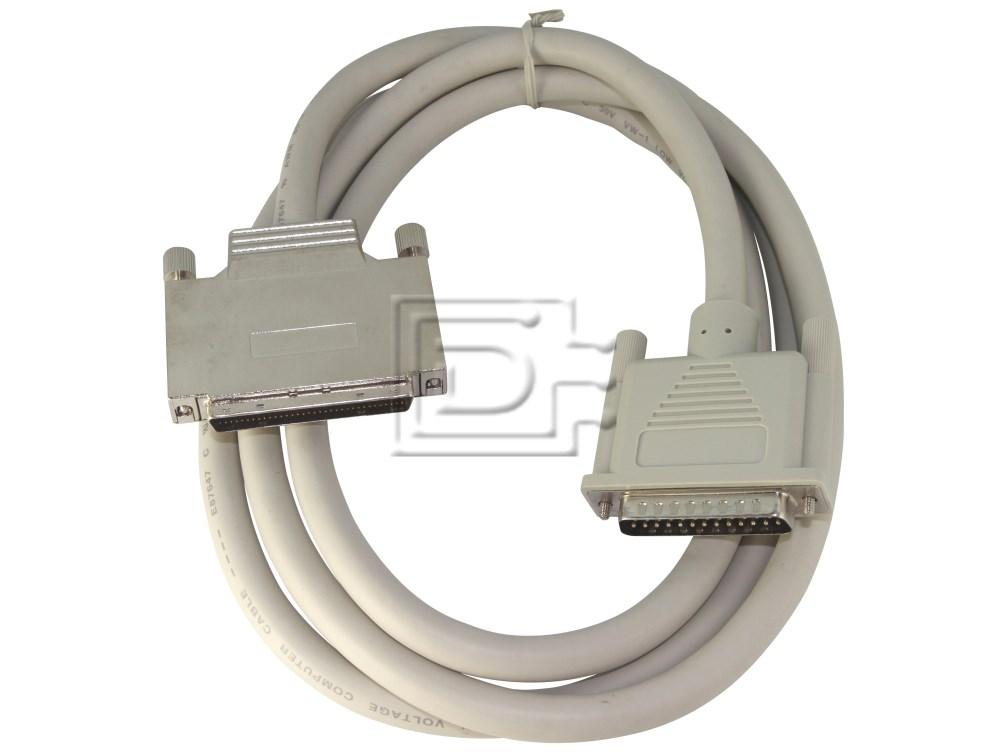 Amphenol CAB-SCSI-EXT-HD68-DB25M-2m-BN-OE image 1