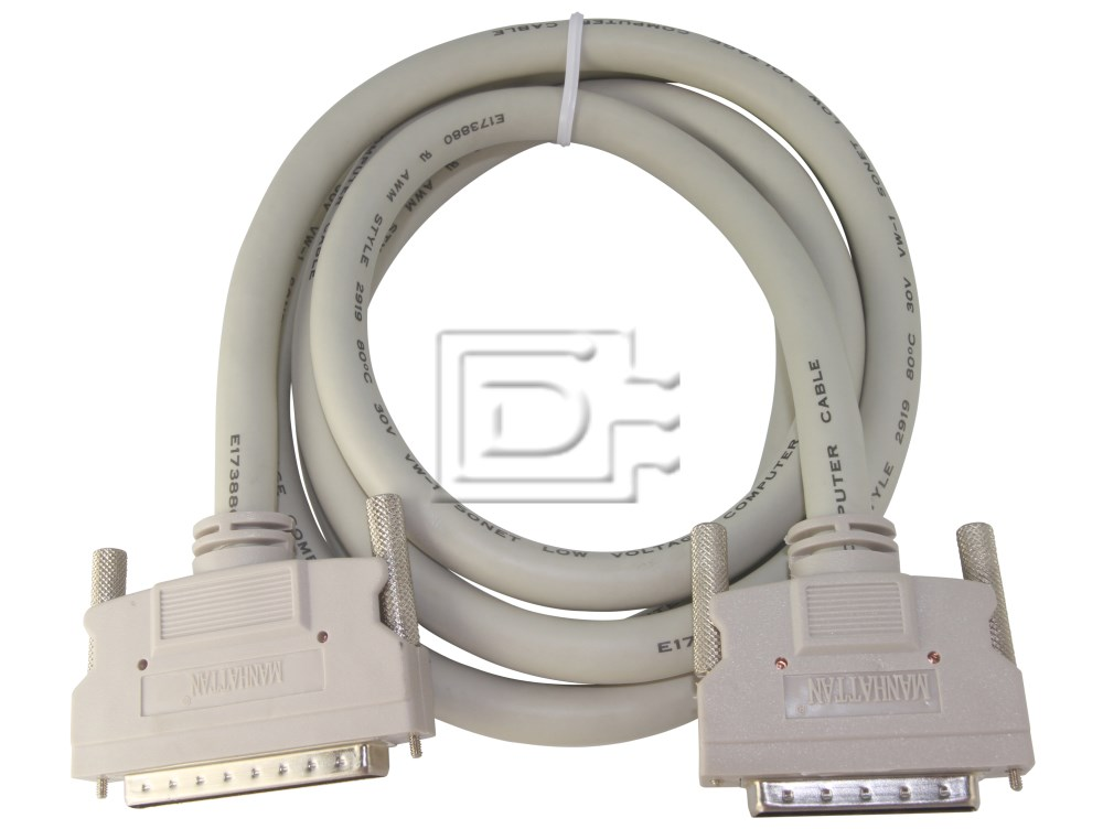 Amphenol CAB-SCSI-EXT-HD68M-HD50M-1m-BN-OE External SCSI Cable image 1