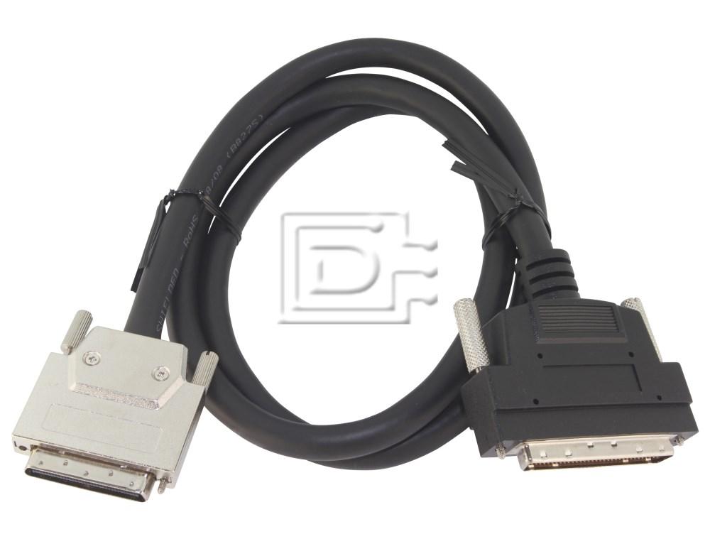 Amphenol CAB-SCSI-EXT-HD68-VHDCI-1m-BN-OE ACK-68V-68HD-LVD-1M-U320 image 1