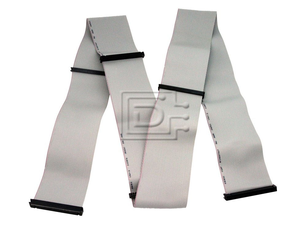 Amphenol CAB-SCSI-INT-50P-50P-6C-52in-BN-OE SCSI Ribbon Cable Internal image 1