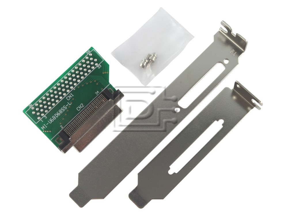 Amphenol CAB-SCSI-INT-68p-EXT-VHDCI-BN-OE 68pin VHDCI SCSI Adapter image 1