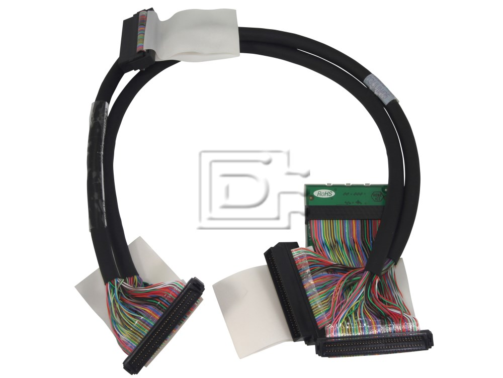 Amphenol CAB-SCSI-INT-HD68M-1m-U320-5CR-BN-OE N8953 0N8953 U320 SCSI Cable image 1