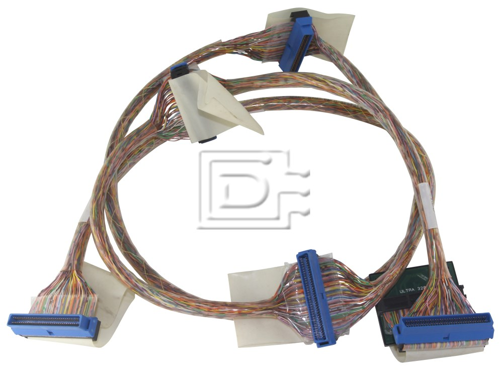 Amphenol CAB-SCSI-INT-HD68M-HD68M-U320-6C-1m-BN-OE SCSI Ribbon Cable Internal image 1