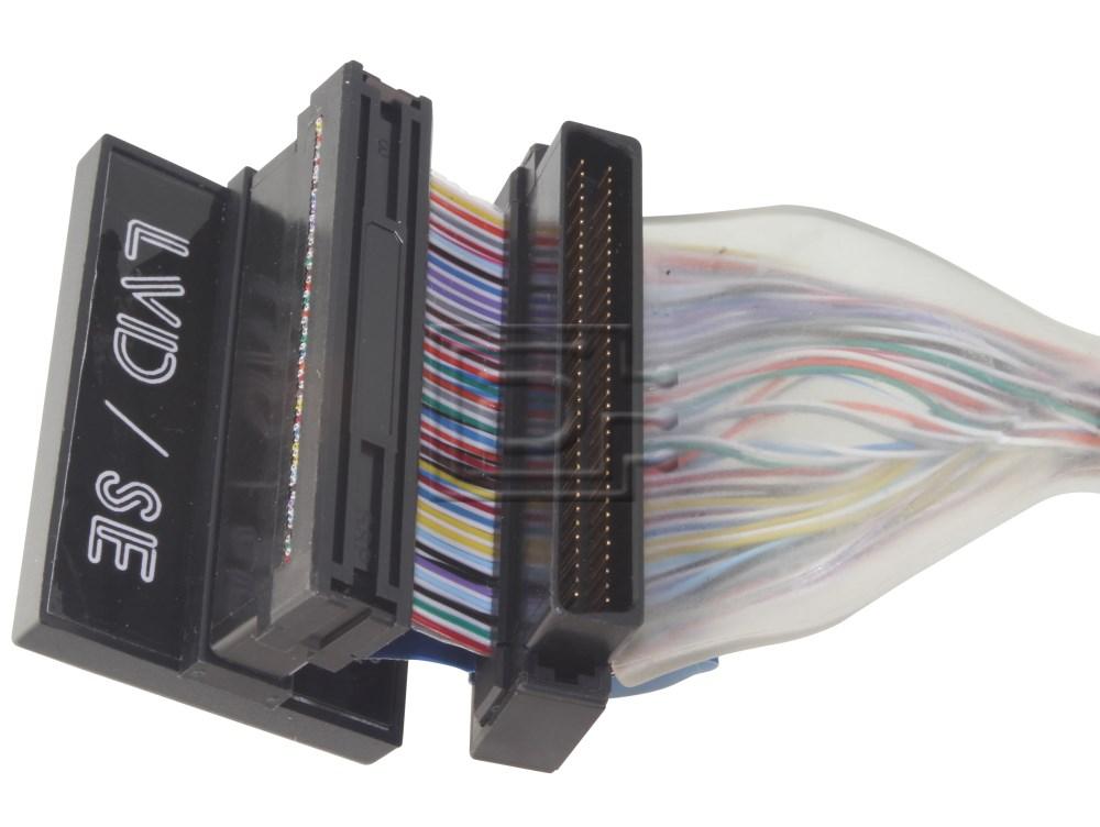 Amphenol CAB-SCSI-INT-HD68M-U160-4CR-1m-BN-OE SCSI Ribbon Cable Circular image 2