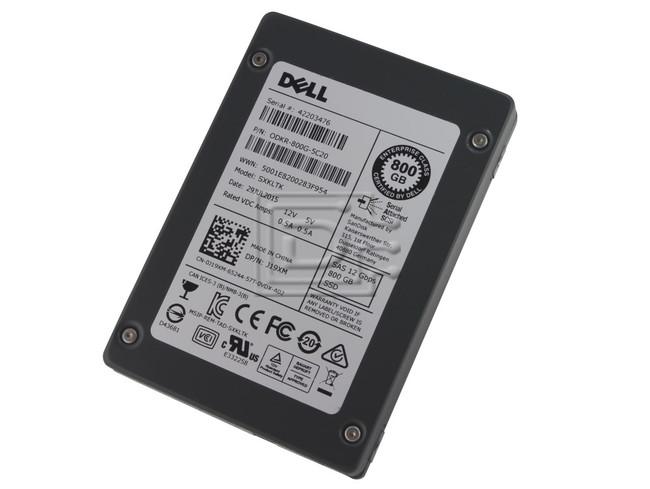 SANDISK SDLTODKR-800G-5C20 J19XM 0J19XM SAS SSD image 1