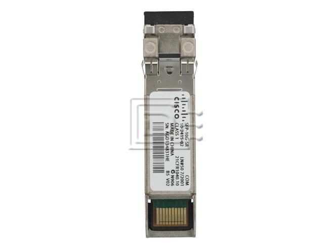 Cisco SFP-10G-SR Module 10-2415-02 - New Pull