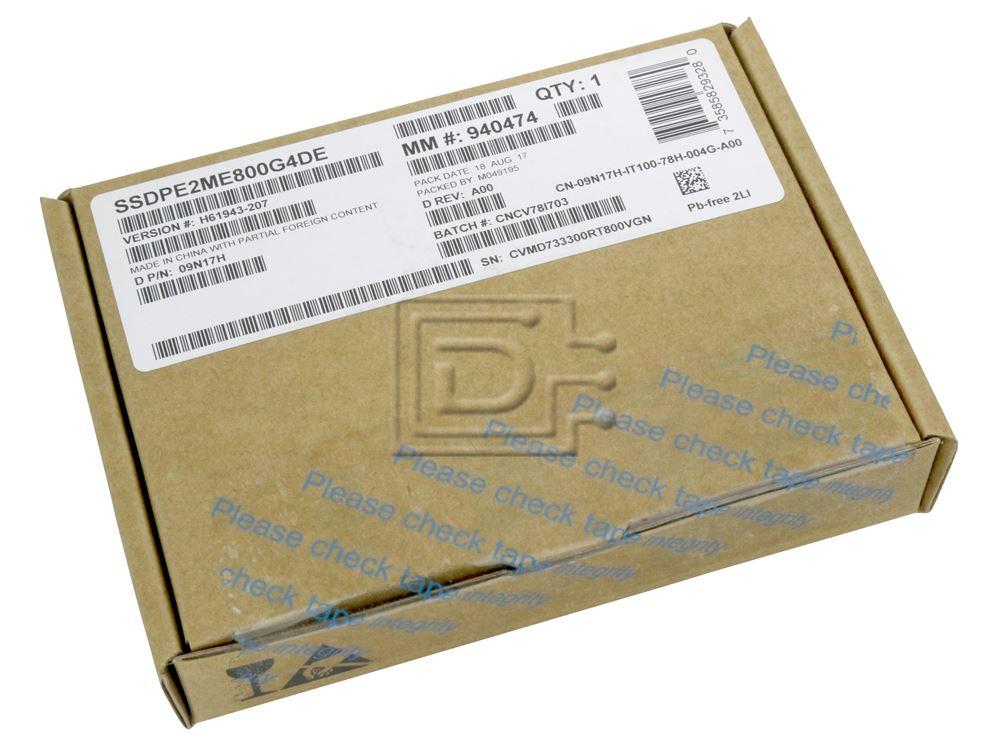 "DELL POWEREDGE 800GB P3700 SERIES SSD 2.5/""      SSDPE2MD800G4"