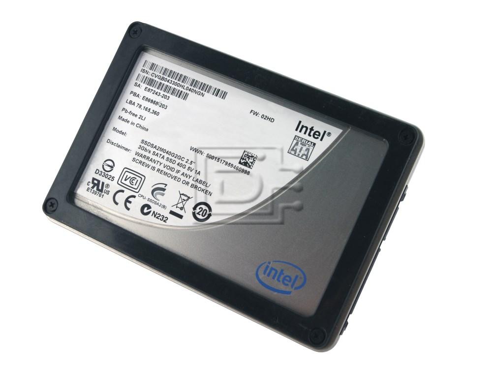 INTEL SSDSA2M040G2GC SATA SSD image 1