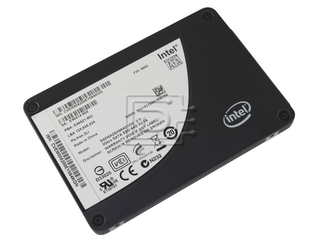 "INTEL SSDSA2SH064G101 SSDSA2SH064G1GC SATA 2.5"" SSD Solid State Hard Drive image 2"