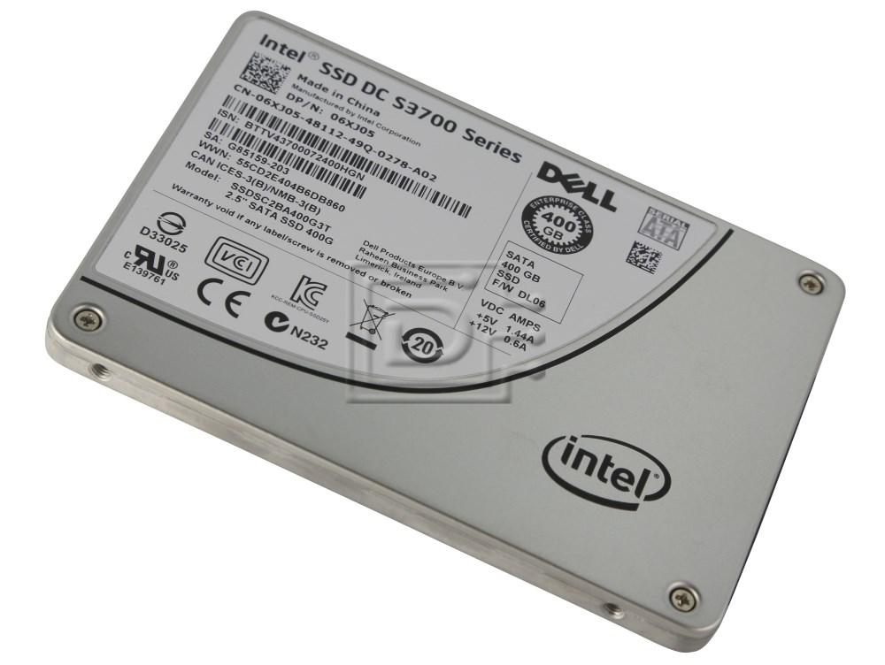 INTEL SSDSC2BA400G3T SSDSC2BA400G301 SSDSC2BA400G3 06XJ05 6XJ05 SATA SSD image 1
