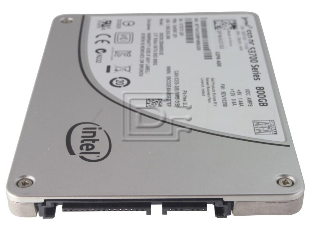 "INTEL SSDSC2BA800G3E SSDSC2BA800G3 SSDSC2BA800G301 4WN3G 04WN3G SATA 2.5"" SSD Solid State Hard Drive image 2"