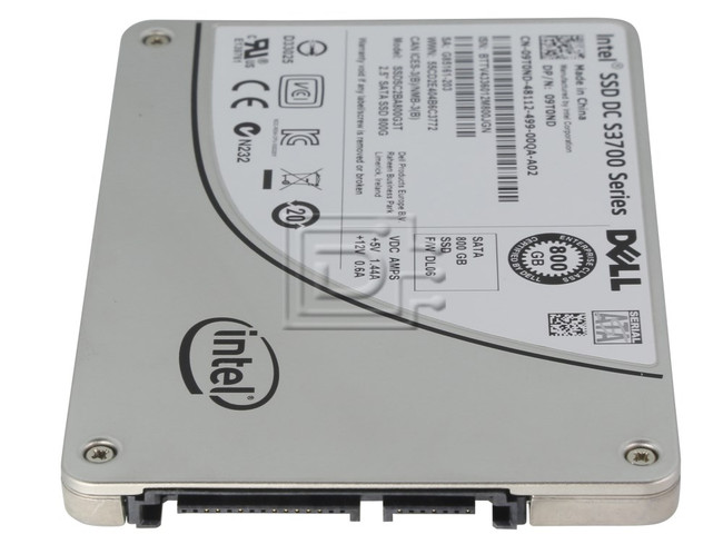 "INTEL SSDSC2BA800G3T SSDSC2BA800G3 SSDSC2BA800G301 09T0ND 9T0ND SATA 2.5"" SSD Solid State Hard Drive image 3"
