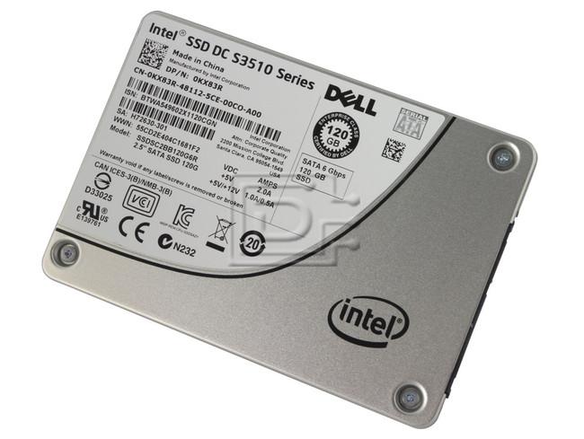 INTEL SSDSC2BB120G6R KX83R 0KX83R SATA Solid State Drive image 1