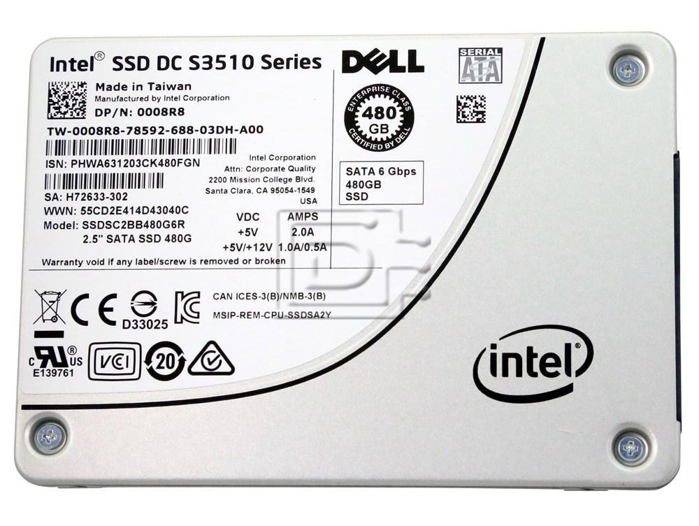 INTEL SSDSC2BB480G7R 64TMJ 064TMJ SATA Solid State Drive image 1