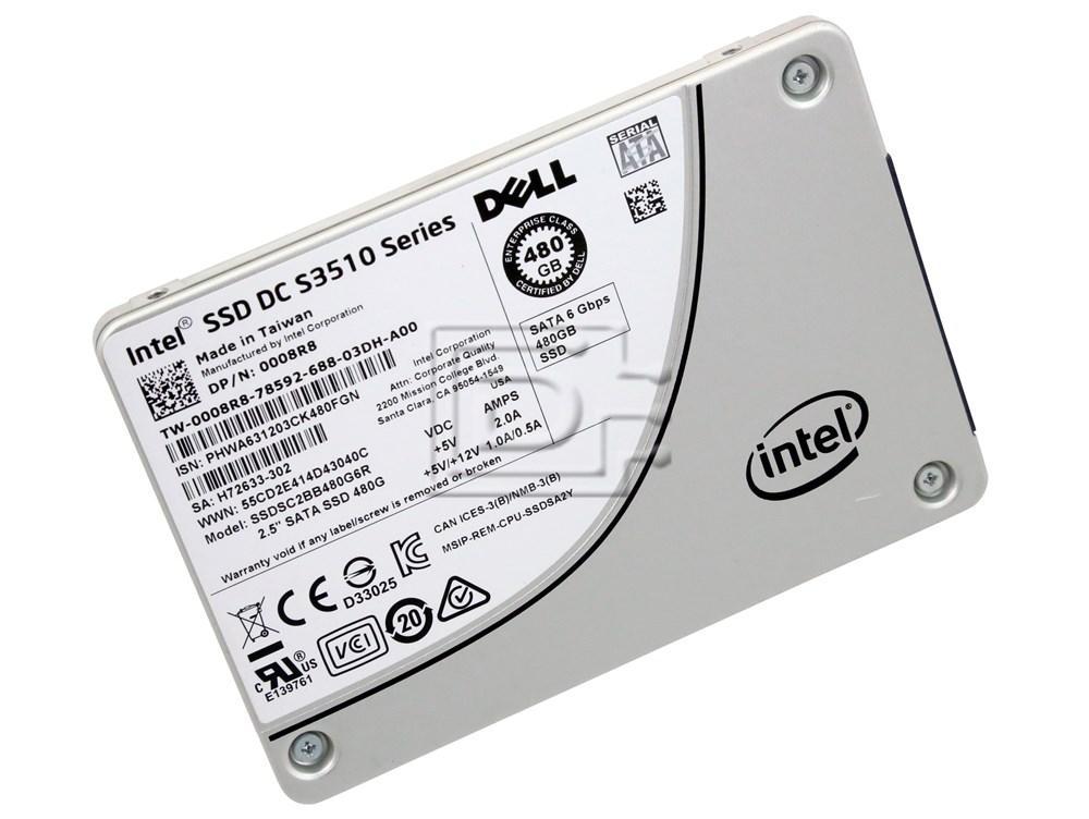 INTEL SSDSC2BB480G7R 64TMJ 064TMJ SATA Solid State Drive image 2