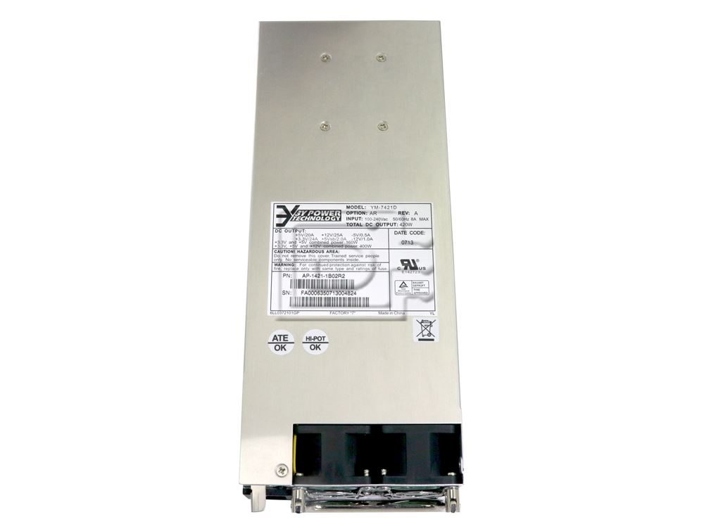 Juniper SSG-PS-AC YM-7421D AP-1421-1B02N AP-1421-1B01 AP-1421-1BA1R2 AP-1421-1BA1 SSG-PS-AC Power Supply PSU for SSG-550 image 2