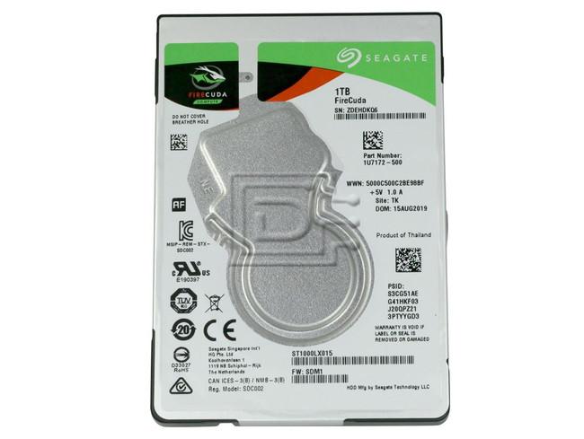 Seagate ST1000LX015 SATA Hybrid Hard Drive image 2
