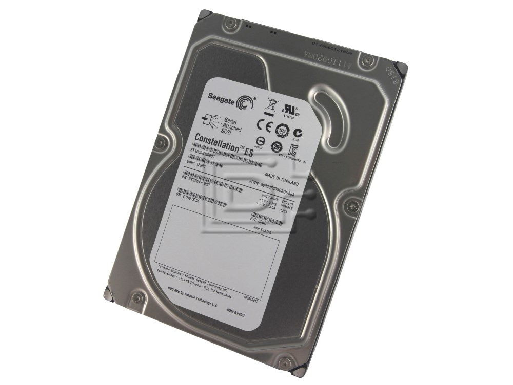 Seagate ST1000NM0001 9YZ264 9YZ264-002 SAS Hard Drive image 1