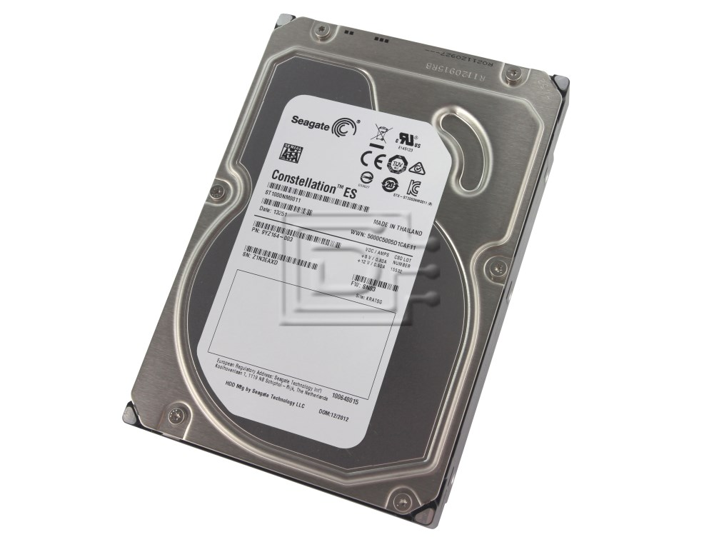 Seagate ST1000NM0011 9YZ164-003 1TB Enterprise SATA Hard Drive image 1