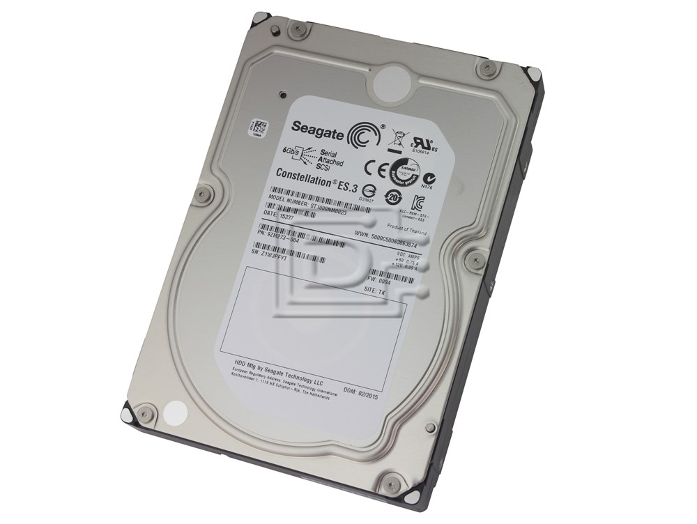 Seagate ST1000NM0023 9ZM273-004 1TB Enterprise SAS Hard Drive image 1