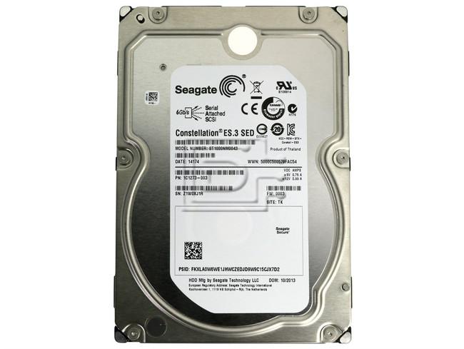 Seagate ST1000NM0043 1C1273-003 1TB Self Encrypting Enterprise SAS Hard Drive image 2