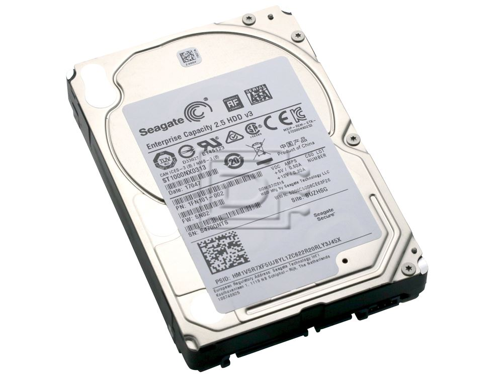 Wf12f Seagate Constellation.2 1Tb 7200Rpm Sata 6Gbs Hard Drive Certified Refurbished