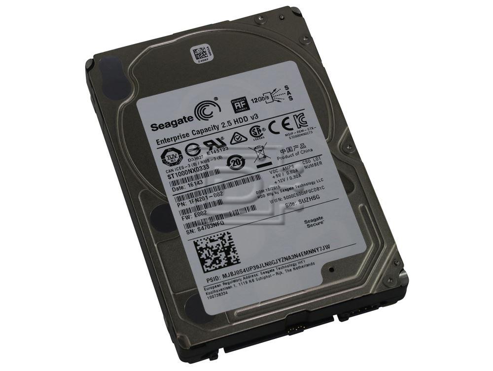 Seagate ST1000NX0333 1FN201-881 SAS Hard Drive image 1