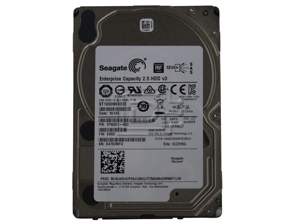 Seagate ST1000NX0333 1FN201-881 SAS Hard Drive image 2